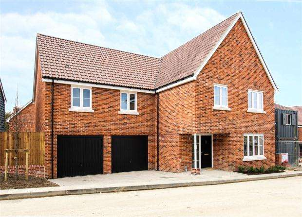4 Bedrooms Detached House for sale in Moorefield, Pampisford Road, Great Abington, Cambridge, Cambridgeshire