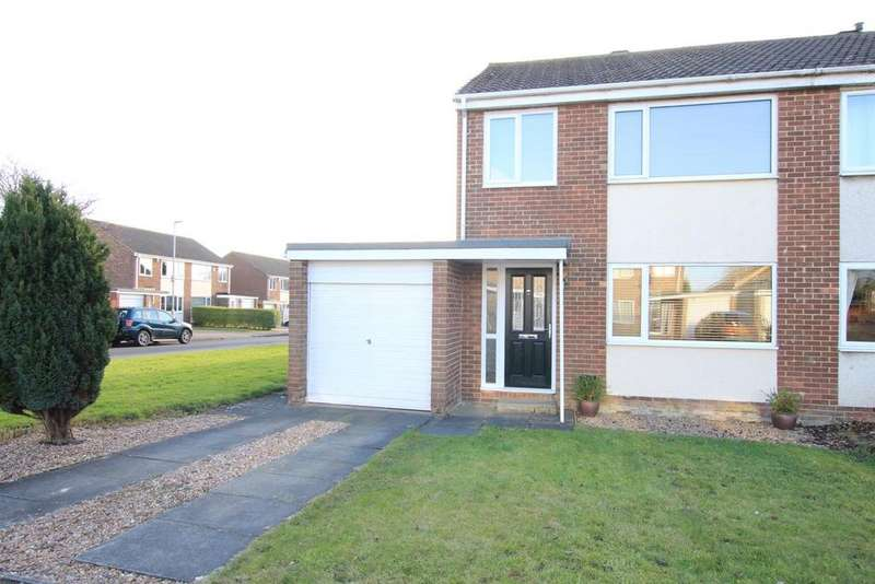 3 Bedrooms Semi Detached House for sale in Lascelles Avenue, Byerley Park, Newton Aycliffe