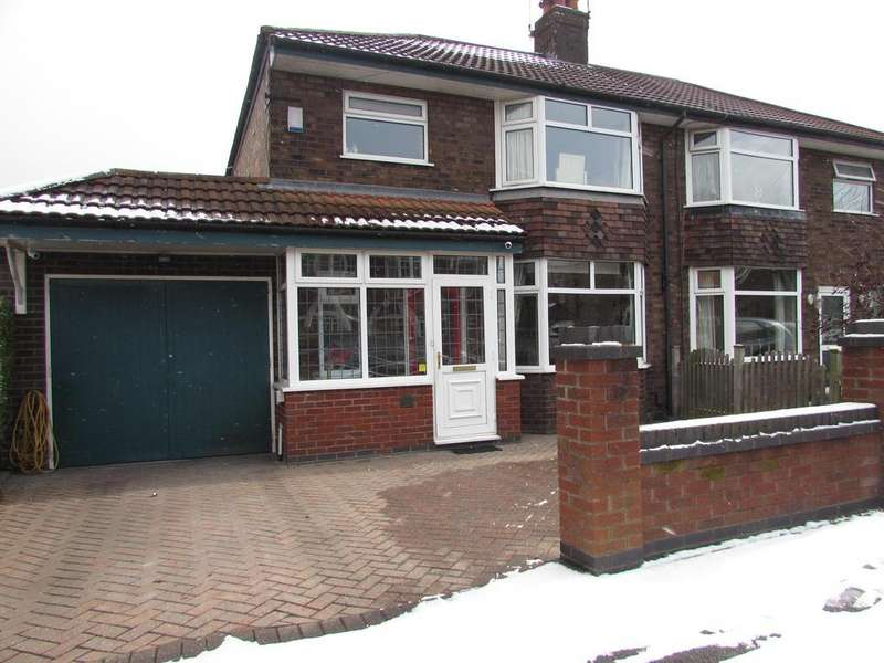 3 Bedrooms Semi Detached House for sale in Maroon Road, Moss Nook, Close To Airport, Manchester, M22