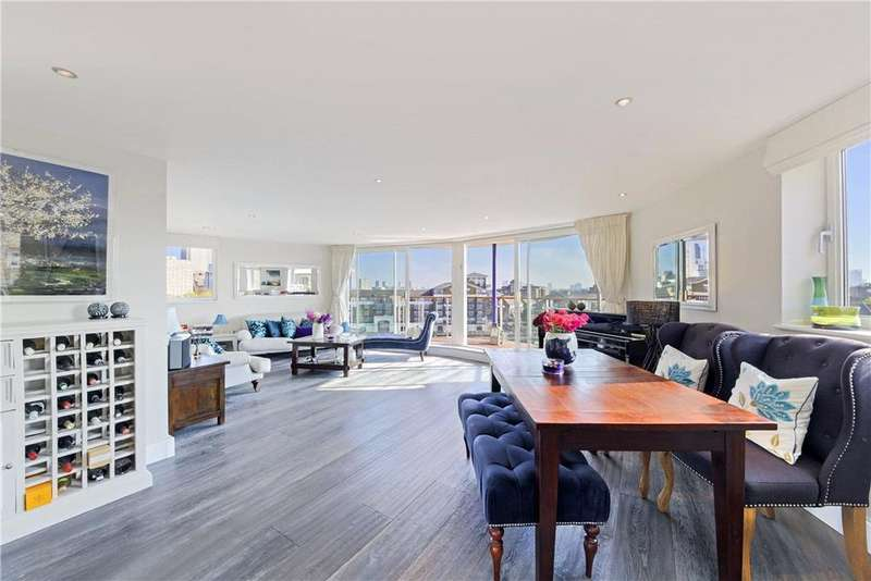 3 Bedrooms Flat for sale in Basin Approach, Limehouse, London, E14