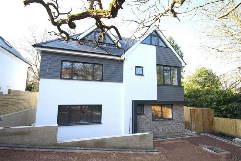 4 Bedrooms Semi Detached House for sale in Danecourt Road, Ashley Cross, Poole, Dorset