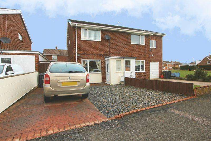 2 Bedrooms Semi Detached House for sale in Lon Y Fedwen Arian