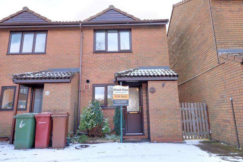 2 Bedrooms Terraced House for sale in Mackender Court, Scunthorpe