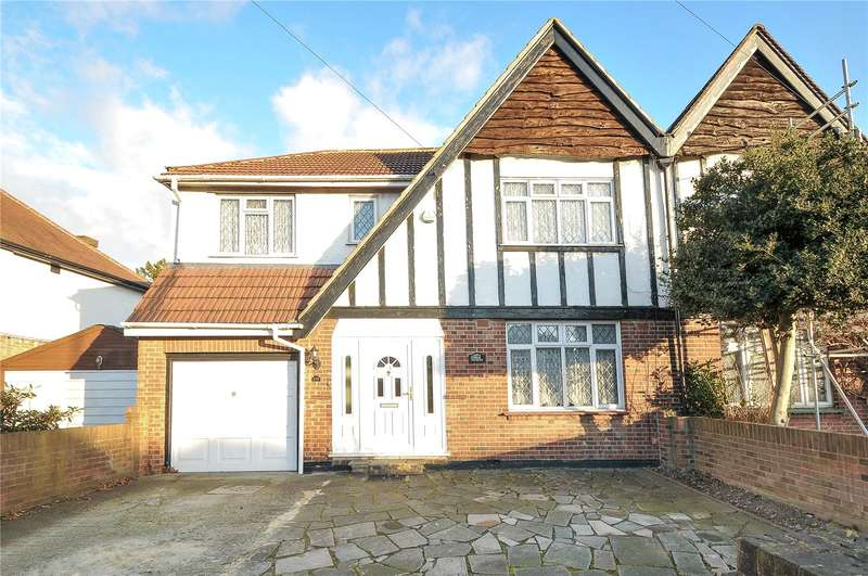 4 Bedrooms Semi Detached House for sale in Church Road, Hayes, Middlesex, UB3