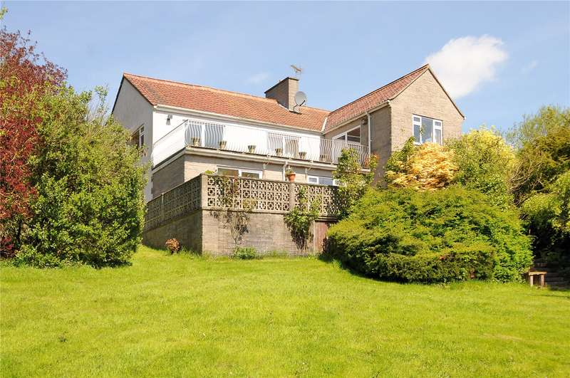4 Bedrooms Detached House for sale in Woodborough, Shoscombe, Bath, BA2