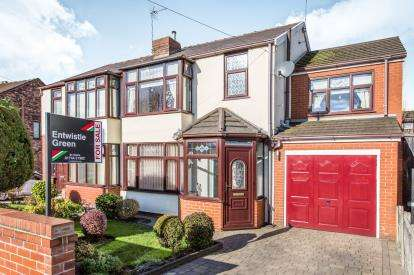 3 Bedrooms Semi Detached House for sale in Newlands Road, St. Helens, Merseyside, WA11
