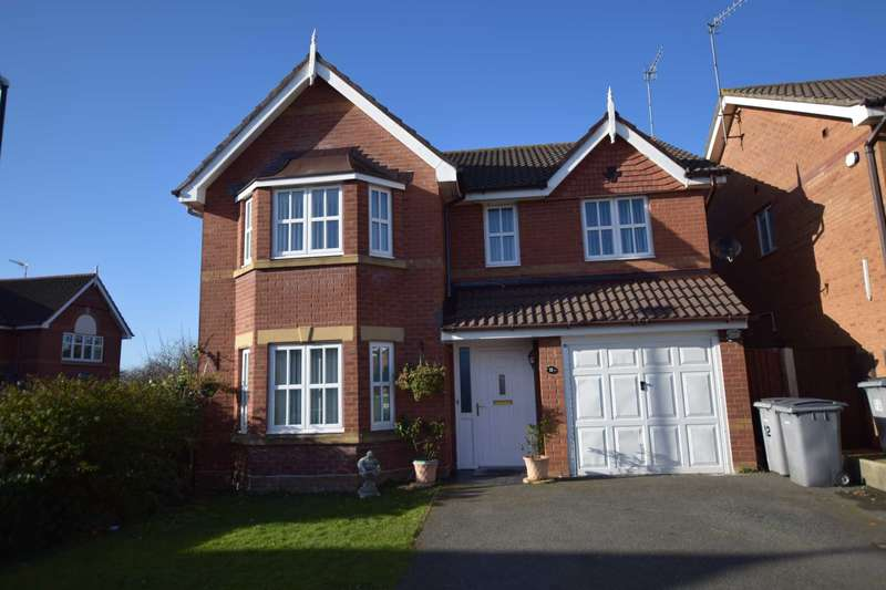 4 Bedrooms Detached House for sale in Balmoral Grove, Prenton