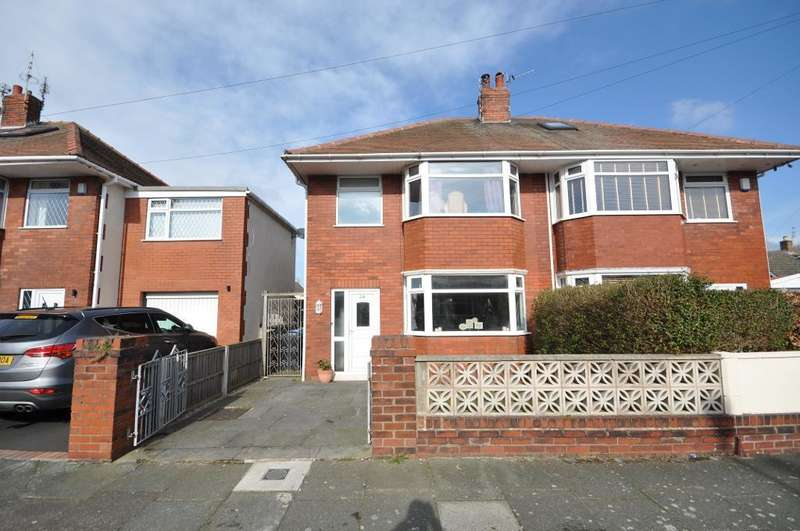 3 Bedrooms Semi Detached House for sale in Cheddar Avenue, Blackpool, Lancashire, FY4 2LQ