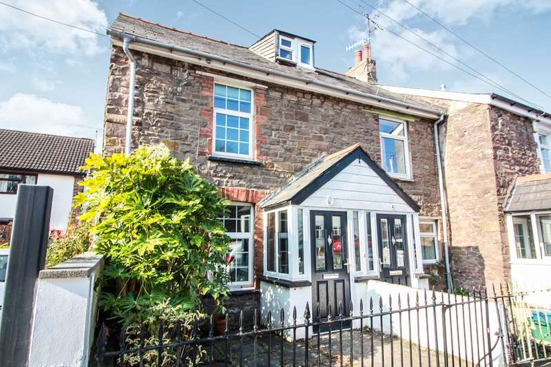 2 Bedrooms End Of Terrace House for sale in Chapel Road, Abergavenny, NP7