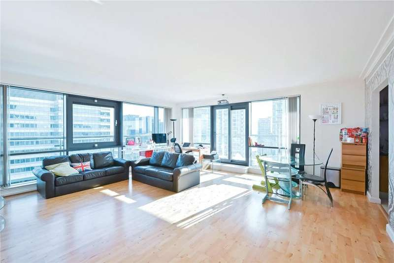 2 Bedrooms Flat for sale in Discovery Dock East, 3 South Quay Square, London
