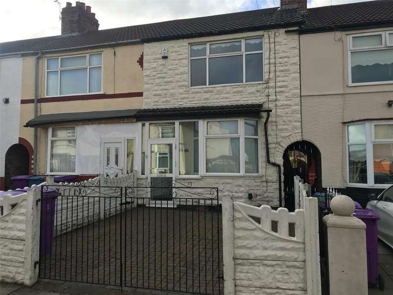 2 Bedrooms Terraced House for sale in Elgar Road, Liverpool, Merseyside, L14