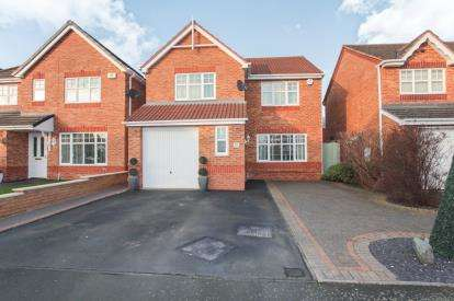 4 Bedrooms Detached House for sale in Fallowfields, Coventry, West Midlands