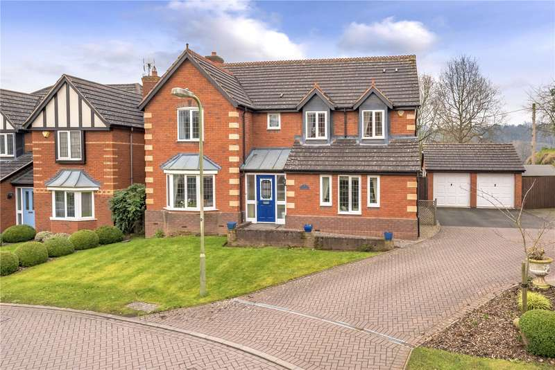 5 Bedrooms Detached House for sale in 20 Brook Hollow, Bridgnorth, Shropshire, WV16