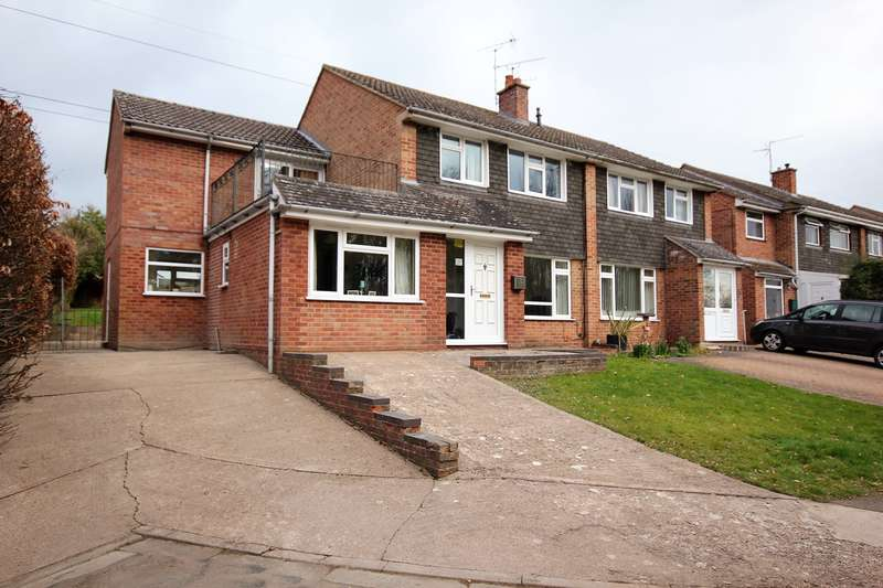 4 Bedrooms Semi Detached House for sale in Everard Close, Worcester, WR2