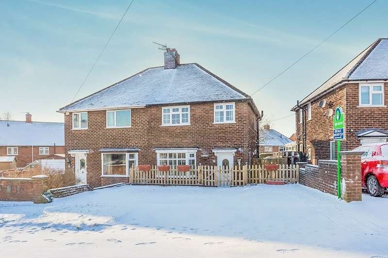 3 Bedrooms Semi Detached House for sale in Machin Crescent, Bradwell, Newcastle, ST5
