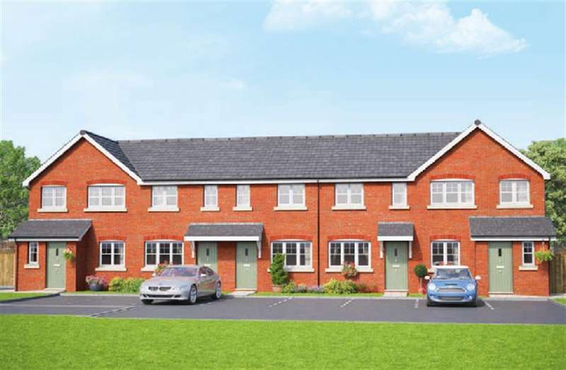 2 Bedrooms Town House for sale in The Oakley, Erddig Place, Wrexham LL11