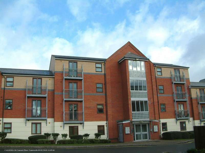2 Bedrooms Apartment Flat for sale in Consort Place, Albert Road, Tamworth B79 7JY