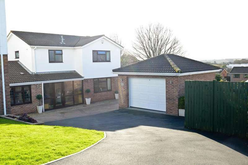 4 Bedrooms Detached House for sale in The Meadows, Hanham, Bristol, BS15 3PB