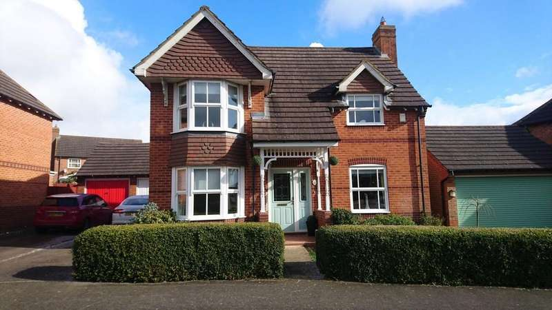 4 Bedrooms Detached House for sale in Kingfisher Road, Brackley