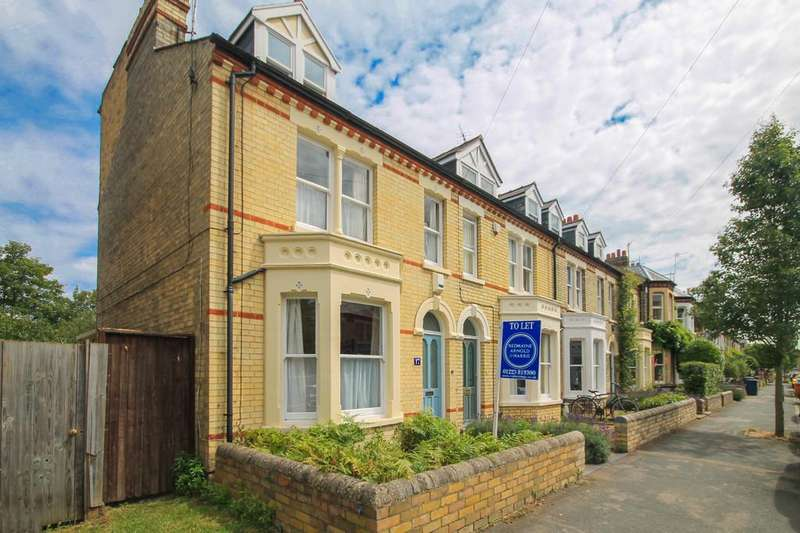 4 Bedrooms End Of Terrace House for rent in Montague Road, Cambridge