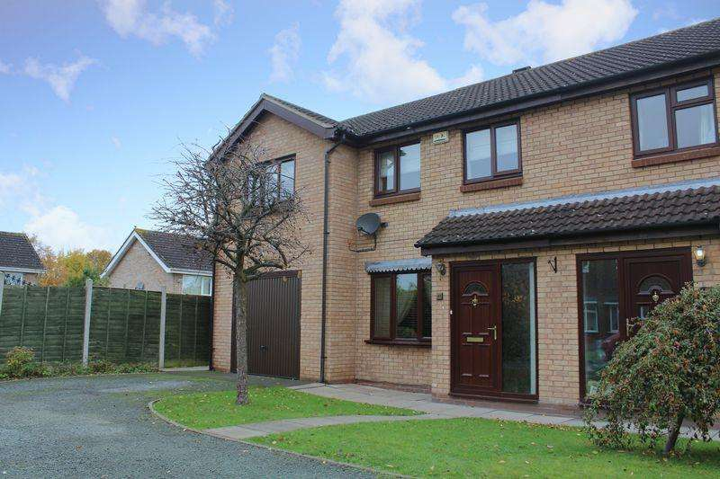 4 Bedrooms Semi Detached House for sale in Alberbury Drive, Sundorne, Shrewsbury, SY1 4TA