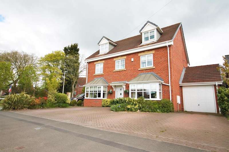 5 Bedrooms Detached House for sale in Norlands Lane, Widnes, WA8 5AX