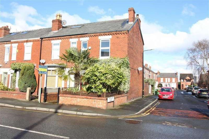 2 Bedrooms End Of Terrace House for sale in Dane Road, Sale