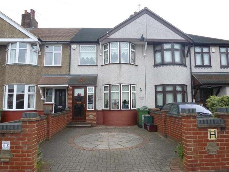 3 Bedrooms Terraced House for rent in Westmoreland Avenue, Welling, Kent, DA16 2QD