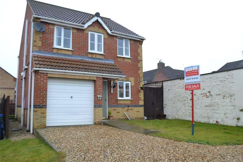 3 Bedrooms Detached House for sale in Juniper Way, Gainsborough, Lincolnshire, DN21