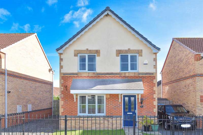 4 Bedrooms Detached House for sale in Valiant Way, Stanley, DH9 8FG