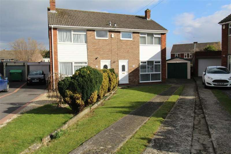 3 Bedrooms Semi Detached House for sale in Derricke Road , Stockwood , Bristol, BS14 8NH