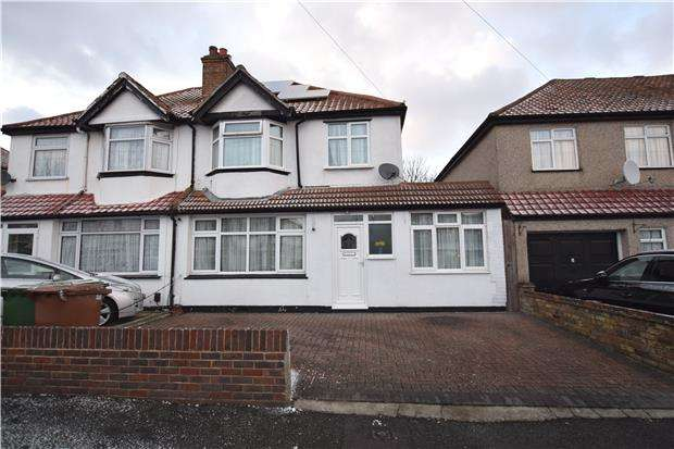 4 Bedrooms Semi Detached House for sale in Erskine Road, SUTTON, Surrey, SM1 3BN