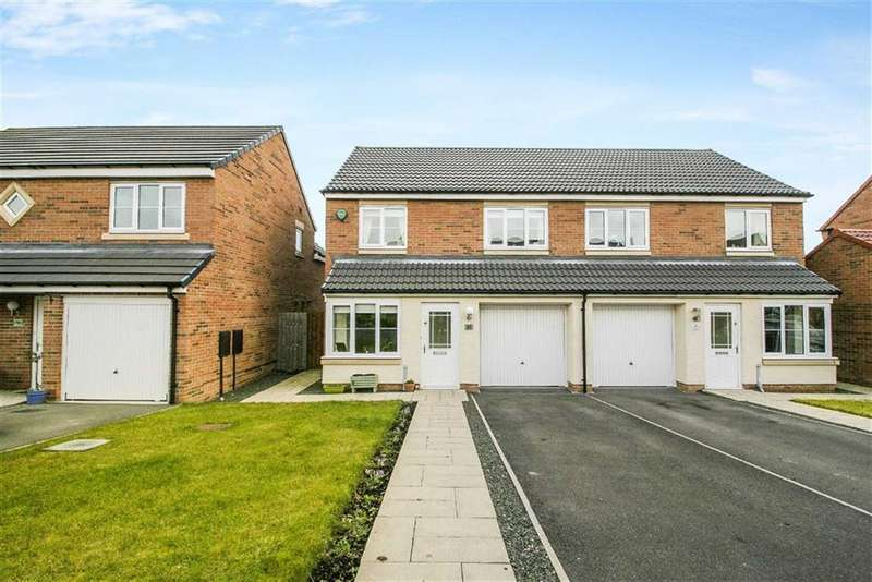 3 Bedrooms Semi Detached House for sale in Havannah Drive, Wideopen, Tyne And Wear