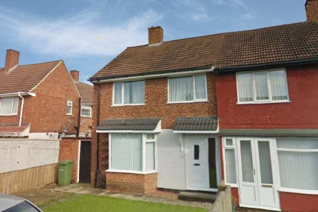 3 Bedrooms Semi Detached House for sale in Edmondbyers Road, Stockton-On-Tees, Cleveland, TS19 8HT