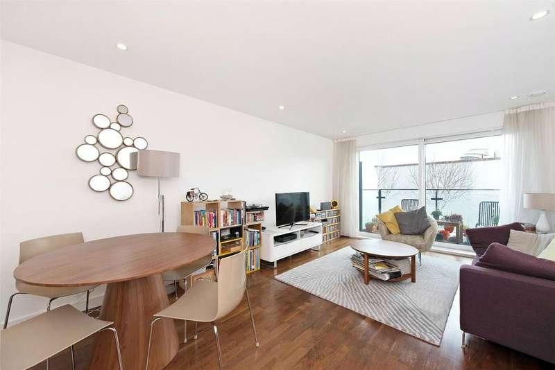 2 Bedrooms Flat for sale in Cornmill House, 4 Wharf Street, London, SE8