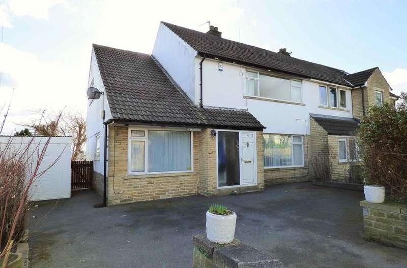 3 Bedrooms Semi Detached House for sale in 91 Bramley Lane, Hipperholme HX3 8NS
