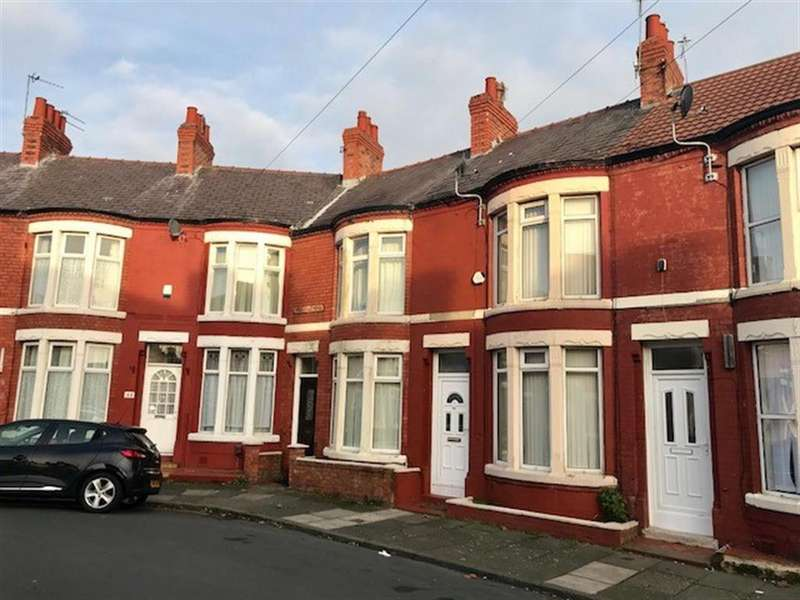 2 Bedrooms Terraced House for rent in Hallville Road, Wallasey, CH44 9AZ