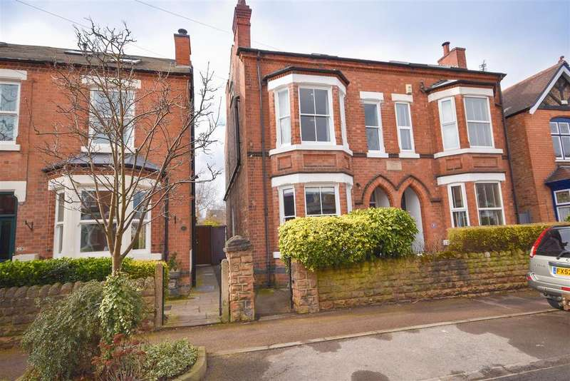 4 Bedrooms Semi Detached House for sale in Gertrude Road, West Bridgford, Nottingham