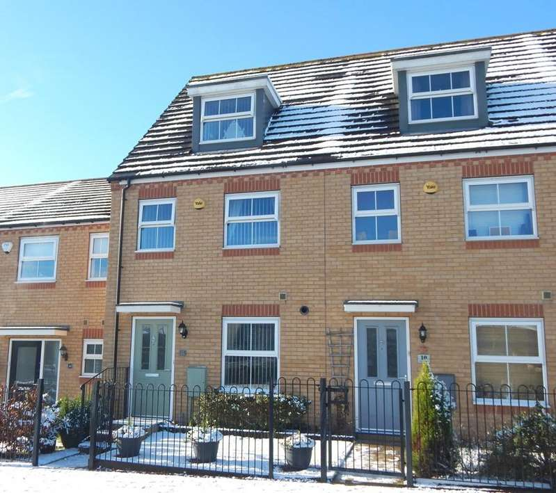 3 Bedrooms Town House for sale in Silver Steet, Brownhills, Walsall, West Mids WS8