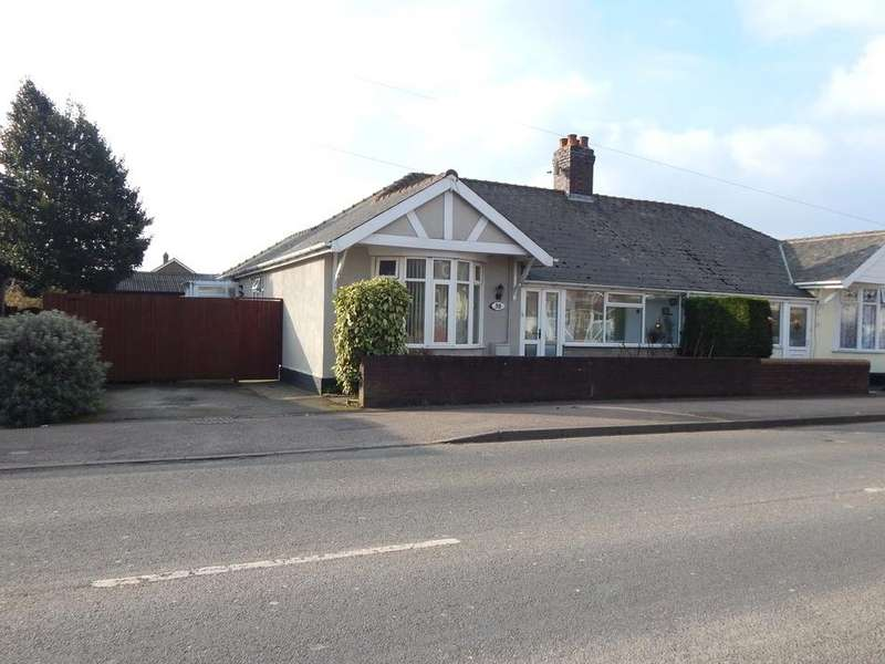 3 Bedrooms Detached Bungalow for sale in Bridge Cross Road, Chase Terrace, Burntwood, Staffs WS7