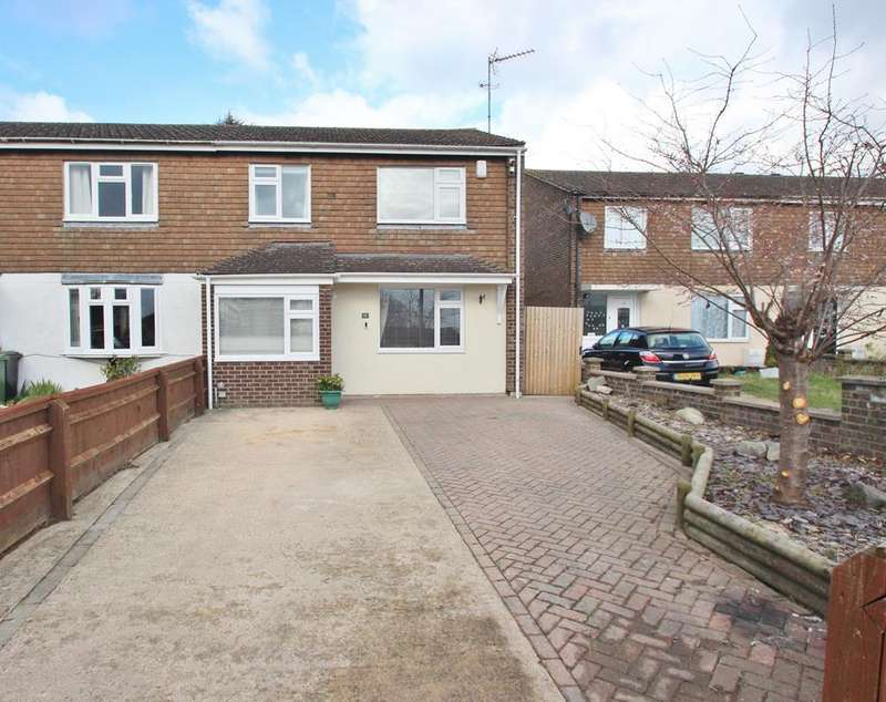 3 Bedrooms End Of Terrace House for sale in Watson Crescent, Wootton, Abingdon