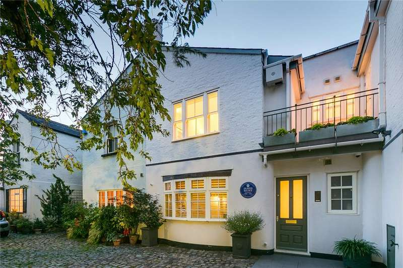 4 Bedrooms Mews House for sale in Normand Mews, West Kensington, LONDON