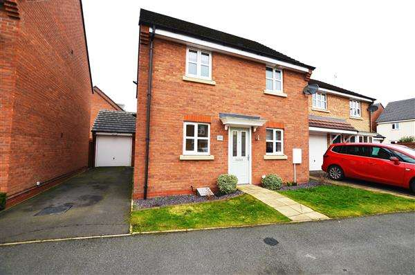 3 Bedrooms Detached House for sale in Great Row View, Wolstanton, Newcastle