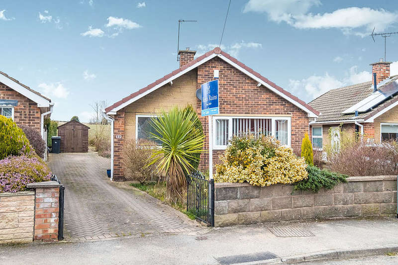 2 Bedrooms Detached Bungalow for sale in Hoades Avenue, Woodsetts, Worksop, S81