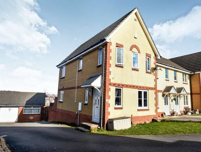 3 Bedrooms End Of Terrace House for sale in Heol Gylfinir, Barry