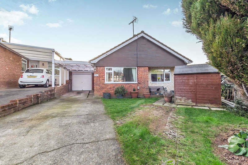 2 Bedrooms Detached Bungalow for sale in Earl Close, Lordswood, Chatham, ME5