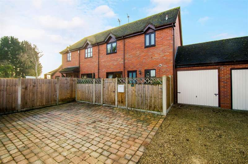 3 Bedrooms Semi Detached House for sale in Plough Road, Tibberton, Droitwich