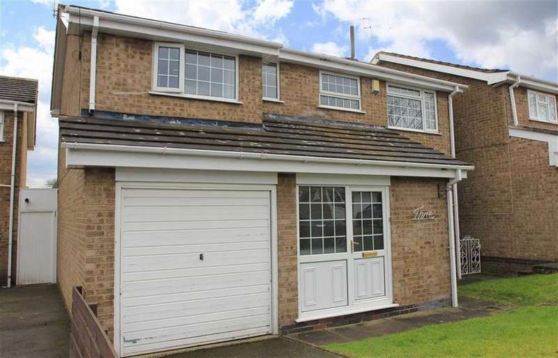 4 Bedrooms Detached House for sale in Donnett Close, Evington, Leicester