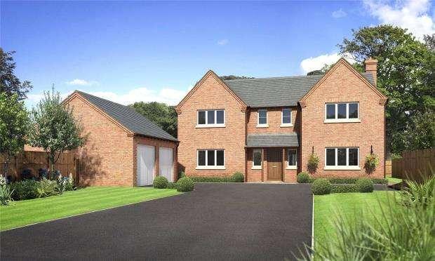 4 Bedrooms Detached House for sale in Tedsmore Grange, West Felton, Oswestry