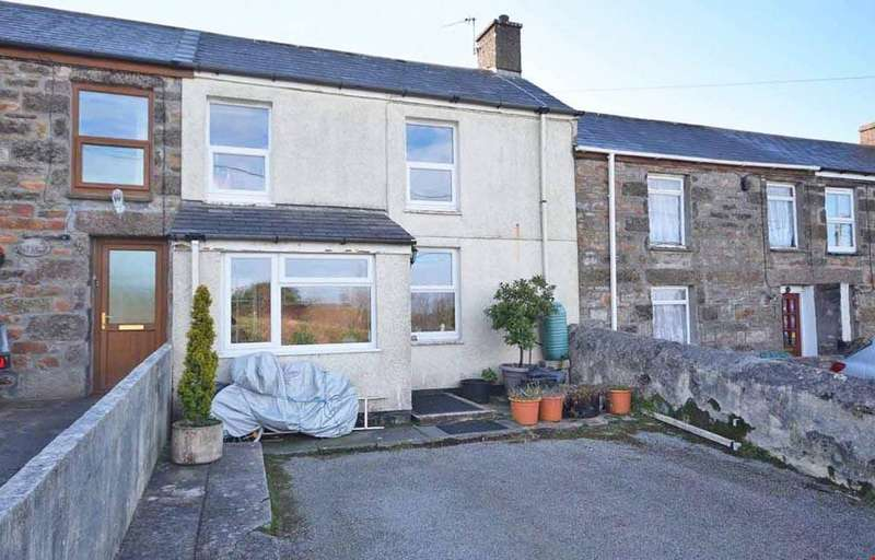 3 Bedrooms Terraced House for sale in Bosleake, Carn Brea, Redruth, Cornwall, TR15